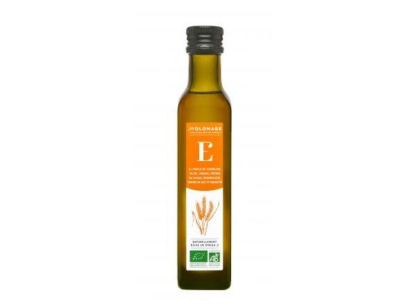 Holonage E - Flacon 250mL- Omégas 3- mélange de 7 huiles