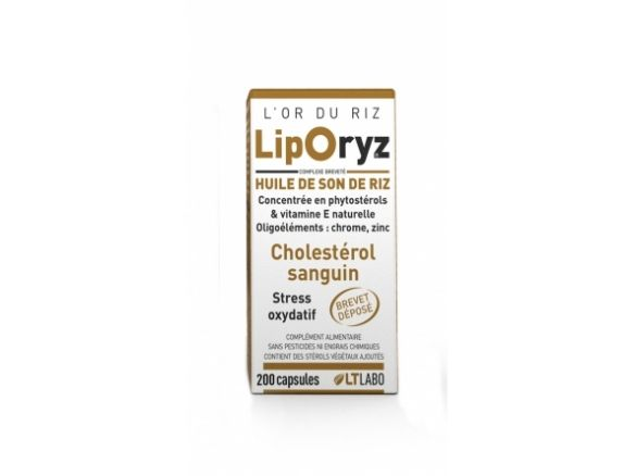 Liporyz Lt Labo 200 capsules