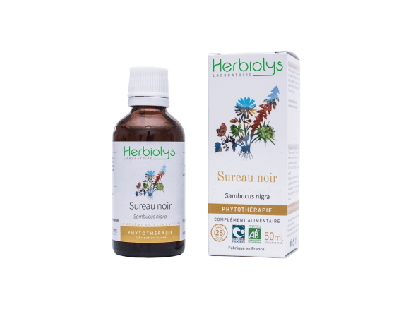Phytothérapie de Sureau Noir Herbiolys