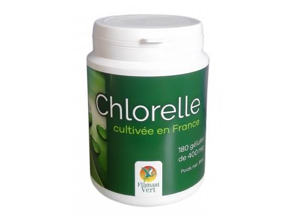 chlorelle-flamant-vert-180gélules-400mg