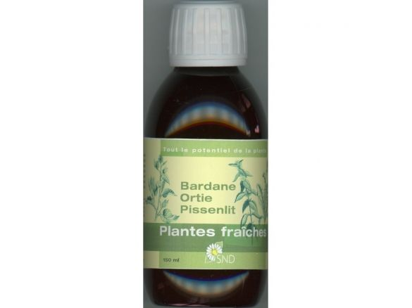 complexe plantes fraiches SND bardane, ortie pissenlit